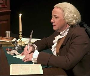 Sam Goodyear as John Adams